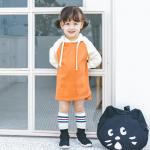 เสื้อ สีส้ม แพ็ค 5ชุด ไซส์ 80cm-90cm-100cm-110cm-120cm