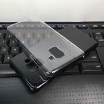 เคส Samsung A8 2018 พลาสติกแข็ง hard case สวยงามมาก ราคาถูก
