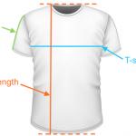 หากสั่งพิมพ์เสื้อหรือสกรีนเสื้อกับทางร้าน มีวิธีการวัดรอบอกเสื้อยืดอย่างไร