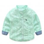 เสื้อ สีเขียว แพ็ค 6 ชุด ไซส์ 90-100-110-120-130-140