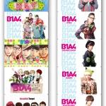 สติ๊กเกอร์การ์ด B1A4 (2)