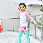ชุดว่ายน้ำ สีชมพู แพ็ค 5 ชุด ไซส์ M-L-XL-2XL-3XL