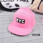 หมวก สีชมพู แพ็ค 5ใบ ไซส์รอบศรีษะ 54-56CM