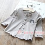 เสื้อ สีเทา แพ็ค 5 ชุด ไซส์ 5-7-9-11-13