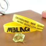ริสแบนด์เดี่ยว MBLAQ /สีเหลือง
