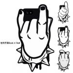 เคส iphone 5 Candies เคสชูนิ้วมือ ชูนิ้วกลาง แนวร๊อค เท่ๆ เคสมือถือราคาถูกขายปลีกขายส่ง