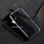 เคสใส iPhone X แบรนด์ Hoco เคสเนื้อยาง บางเบา ใสปิ๊ง ราคาถูก ของแท้แน่นอน