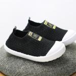 รองเท้าผ้าใบเด็ก สีดำ แพ็ค 6 คู่ ไซส์ 23-24-25-26-27-28