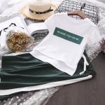 เสื้อ+กางเกง สีเขียว แพ็ค 5 ชุด ไซส์ 7-9-11-13-15