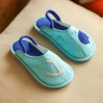 รองเท้าเด็กแฟชั่น สีฟ้า แพ็ค 5 คู่ ไซส์ 26-27-28-29-30
