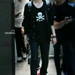 เสื้อยืดแฟชั่น EXO TAO สีดำ