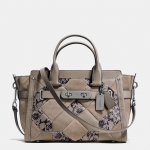 Preorder COACH COACH SWAGGER IN PATCHWORK EXOTIC EMBOSSED LEATHER