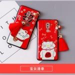 เคส Huawei GR5 (2017) พลาสติก TPU ลายนำโชค พร้อมสายคล้องมือและกระเป๋าเก็บสายหูฟัง ราคาถูก