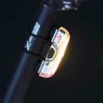ไฟท้ายจักรยา MOON COMET MK2-C ,Multi color light 2016,M051