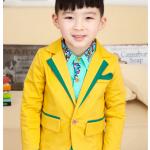 แจ็คเก็ต(ไม่รวมเสื้อตัวใน) สีเหลือง แพค 5 ตัว ไซส์ 100-110-120-130-140