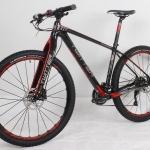จักรยานเสือภูเขา TWITTER รุ่น THUNDER เฟรมคาร์บอน ตะเกียบคาร์บอน 30สปีด สีดำแดง ไซส์ 17 นิ้ว