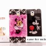 เคสซัมซุงโน๊ต3 Case Samsung Galaxy note 3 พลาสติกลายการ์ตูนมินนี่ มิกกี้ ราคาส่ง ขายถูกสุดๆ