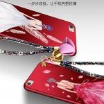 เคส huawei p8 max พลาสติกลายผู้หญิงแสนสวย พร้อมที่คล้องมือ สวยมากๆ ราคาถูก