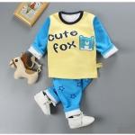 ชุดเซตกันหนาว cute fox [size 2y-4y-6y]