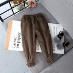 กางเกง (ด้านในมีขน) สีน้ำตาล แพ็ค 5 ชุด ซส์ 7-9-11-13-15
