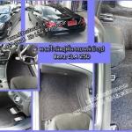 ขายพรมติดรถยนต์เข้ารูป Benz CLA250 ไวนิลสีดำขอบดำด้ายแดง