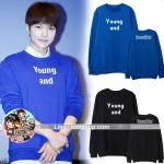 เสื้อแฟชั่นเกาหลี เสื้อกันหนาว Infinite For You