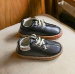 รองเท้าเด็กแฟชั่น สีดำ แพ็ค 5 คู่ ไซส์ 26-27-28-29-30