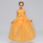 ชุดกระโปรง สีเหลือง แพ็ค 6 ชุด ไซส์ 110-120-130-140-150-160 (เลือกไซส์ได้)