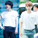 เสื้อยืด (T-Shirt) YOU.R.U.R แบบ Minho, Yugyeom