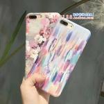 เคส iPhone 7 Plus (5.5 นิ้ว) พลาสติก TPU มีความยืดหยุ่น ลายดอกไม้สวยงามมาก ราคาถูก