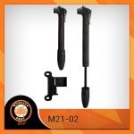 สูบพกพา BEE ,M21-02 Mini Pump (สูบได้ทั้งหัวเล็กและหัวมอเตอร์ไซค์)
