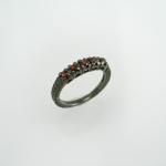 แหวนกราเนต (Garnet Silver Ring)