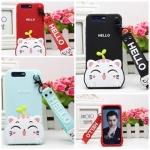 เคส Huawei Honor V9 ซิลิโคน soft case แบบนิ่มน่ารักมาก พร้อมสายคล้องเข้าชุด ราคาถูก