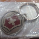 VICTORINOX Knives Cross & Shield Key Chain Swiss Army New Pocket Knife VN33730