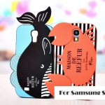 Case Samsung Galaxy S4 i9500 ซิลิโคนปูน้อย ปลาวาฬน้อย น่ารักมากๆ เคสมือถือ ราคาถูก ขายส่ง