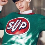 เสื้อแฟชั่นเกาหลี Pinocchio ปาร์คชินเฮลีจองซอก SuperME สีเขียว
