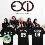 เสื้อยืด (T-Shirt) EXID