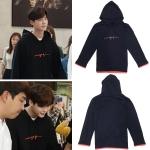 เสื้อฮู้ด (Hoodie) ทรงแขนปล่อย แบบ Lee Jongsuk