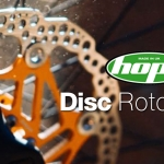 ใบดิสเบรค HOPE DISC ROTORS ,6รู Laser cut and heat treated 2017