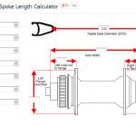 การคำนวณ ความยาวซี่ลวดขนาดต่างๆ เช่น ล้อ 650B(27.5)