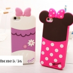 เคส iphone 5 / 5s เคสซิลิโคน 3D ด้านหลังตัวการ์ตูน disney น่ารักๆ มิกกี้เม้าส์ โดนัลดั๊ก หมีพูห์ ราคาส่ง ขายถูกสุดๆ -B-