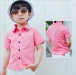 เสื้อ สีชมพู (ไซส์เล็ก) แพ็ค 3 ชุด ไซส์ 90-100-110 (เลือกไซส์ได้)