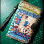กระเป๋าสองช่อง 1 ซิป ผ้าอเมริกา - สั่งทำ