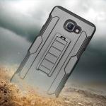เคส Samsung A9 Pro เคสกันกระแทก สวยๆ ดุๆ เท่ๆ แนวอึดๆ แนวทหาร เดินป่า ผจญภัย adventure มาใหม่ ไม่ซ้ำใคร ตัวเคสแยกประกอบ 2 ชิ้น ชั้นในเป็นยางซิลิโคนกันกระแทก ครอบด้วยแผ่นพลาสติกอีก1 ชั้น สามารถกาง-หุบ ขาตั้งได้