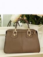 กระเป๋าแฟชั่น BB - 001 สี Brown  (Free จัดส่ง)