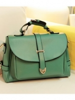 กระเป๋าแฟชั่น Axixi - 052 สีเเขียว (พร้อมส่ง)