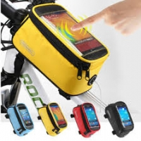 ROSWHEEL Bike Bicycle Front Top Tube Frame Bag Case for Touch Screen Smart Phone
