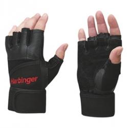 HARBINGER Pro Series Wristwrap Glove Black (XL) 2 glove
