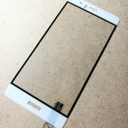 ฟิล์มกระจกเต็มจอ Huawei P9 ขอบขาว