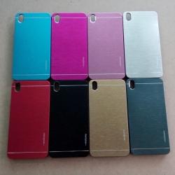 Case HTC Desire 816 รุ่น Aluminium Hybrid ลายเส้น